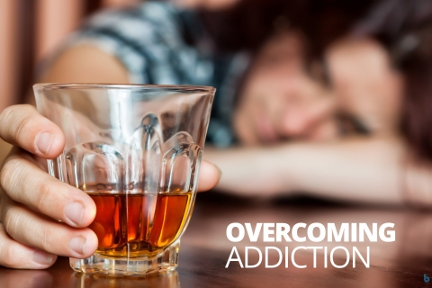Overcoming addiction by Kristen White