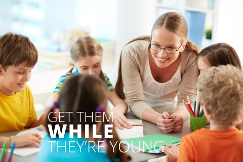 Get them while they're young by Gemma Bailey