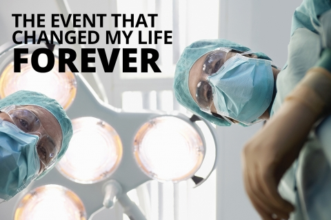 The event that changed my life forever by Janine Rogerson