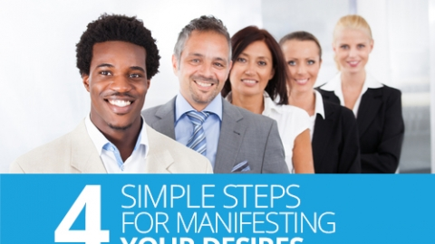 Four simple steps for manifesting your desires by Natalie Ekberg