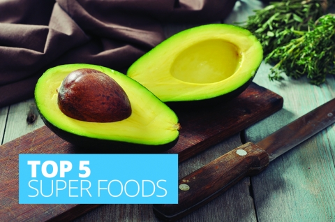 Top five super foods by Angela Steel