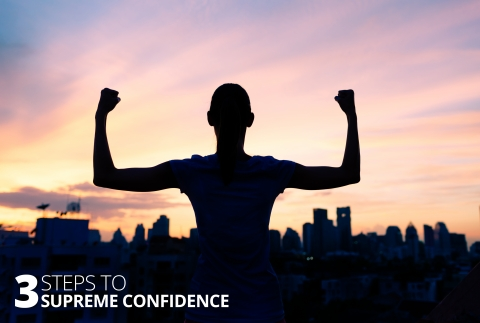 3 Steps To Supreme Confidence by Benjamin Bonnettiti