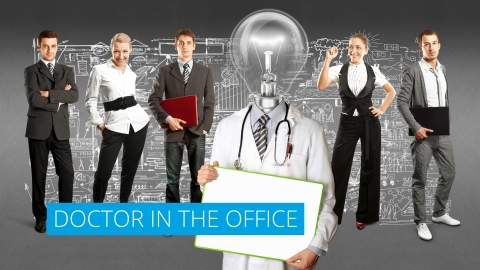 Doctor in the office – Matt Levington