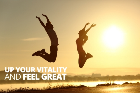 Up Your Vitality and Feel Great by Dr. Pedram Shojai