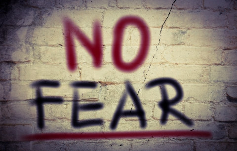 Scared? Have no fear by Tanya Franks