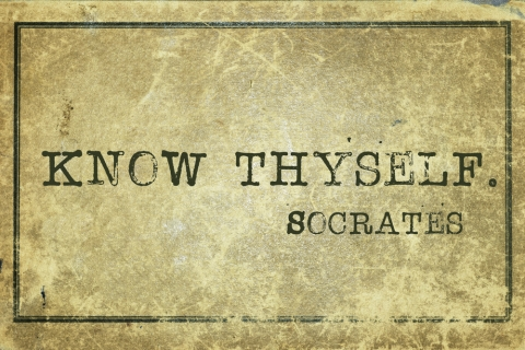 """Know thyself"" by Jo Ritchie"
