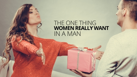 The One Thing Women Really Want In A Man by Ali Campbell
