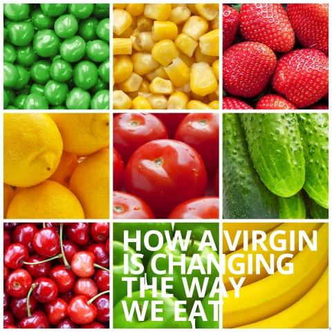 How A Virgin Is Changing The Way We Eat by Kristen White