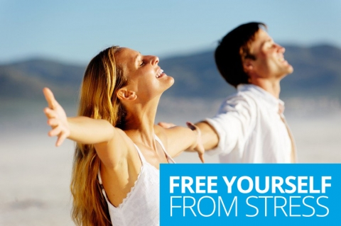 Free yourself from stress by The English Sisters