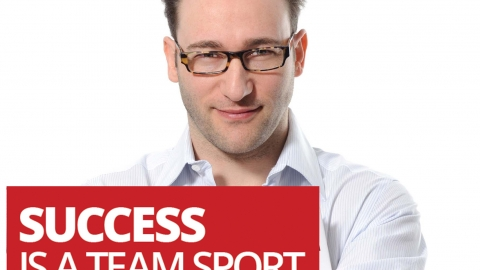 Success is a team sport, interview with author Simon Sinek