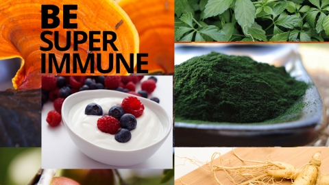 Be Super Immune by David Wolfe
