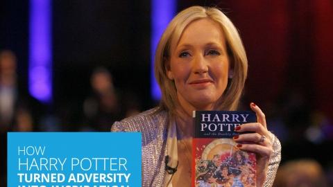 How Harry Potter Turned Adversity Into Inspiration – the J K Rowling Story