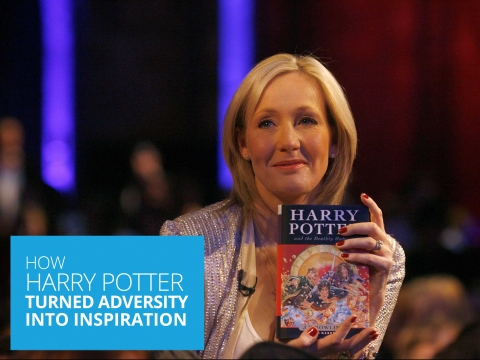 How Harry Potter Turned Adversity Into Inspiration – the J K Rowling Story