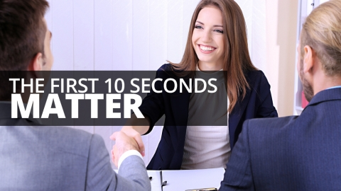 The first 10 seconds matter by Emma Vites
