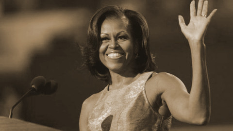 Rocky road to success, Michelle Obama: Balancing home and politics