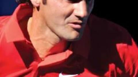 Lucky Roger Federer?