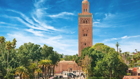 Find yourself in magical Marrakech