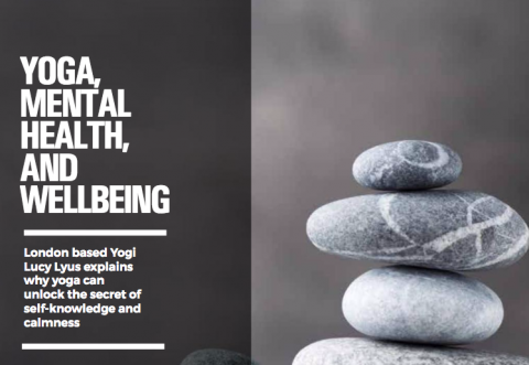 Yoga, mental health, and well being