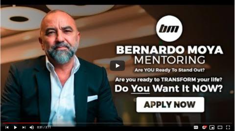 Bernardo Moya launches his new Mentorship programme for 2020