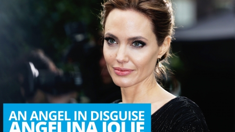 Angelina Jolie: an angel in disguise