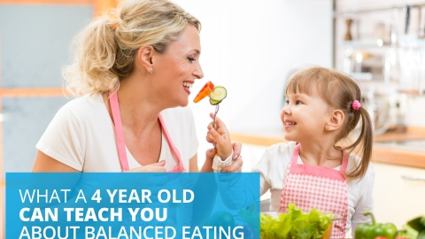What A 4 Year Old Can Teach You About Balanced Eating by Anne-Sophie Reinhardt