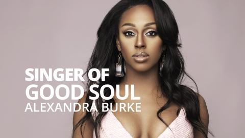 Singer of good soul  – Alexandra Burke by Bernardo Moya
