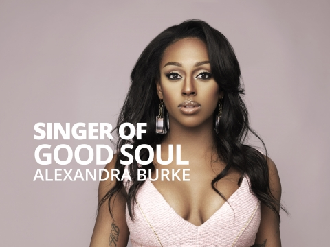Singer of good soul  – Alexandra Burke by Bernardo Moya
