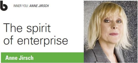 The Spirit of Enterprise by Anne Jirsch