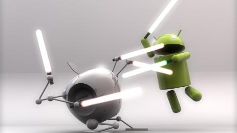 Apple vs. Android by Matt Wingett