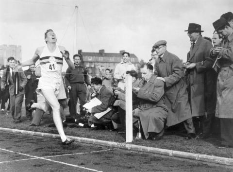 Dr Roger Bannister: Belief beyond limits