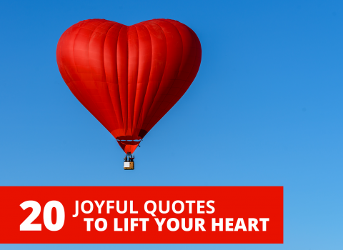 20 Joyful Quotes To Lift Your Heart by Bernardo Moya