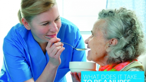 What does it take to be a nurse?