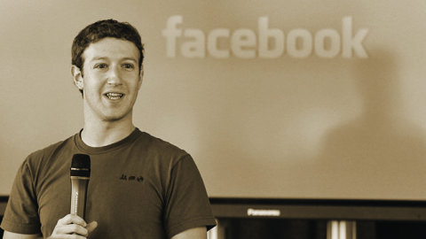Rocky road to Success. Mark Zuckerberg: Technical genius