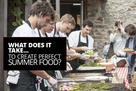 What does it take… to create perfect summer food? by Gillon Meller