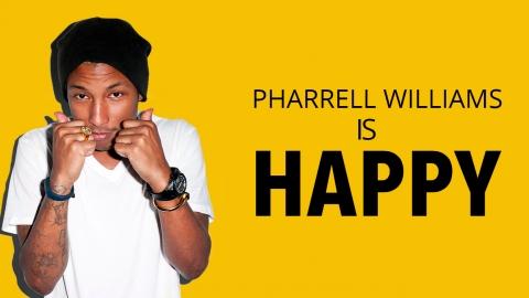 What Makes Pharrell Williams HAPPY?