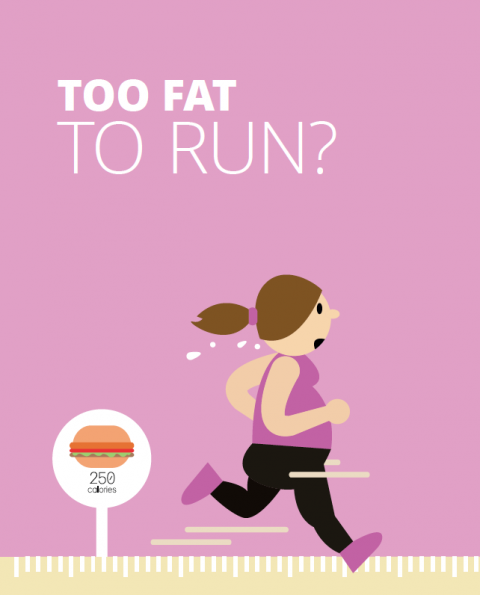 Too fat to run? – Julie Creffield