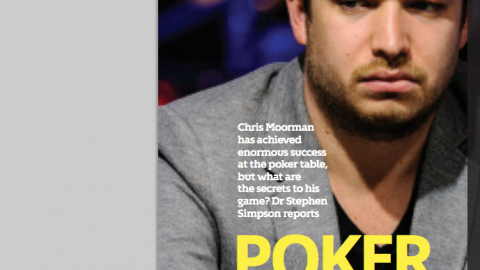 Poker face- Chris Moorman