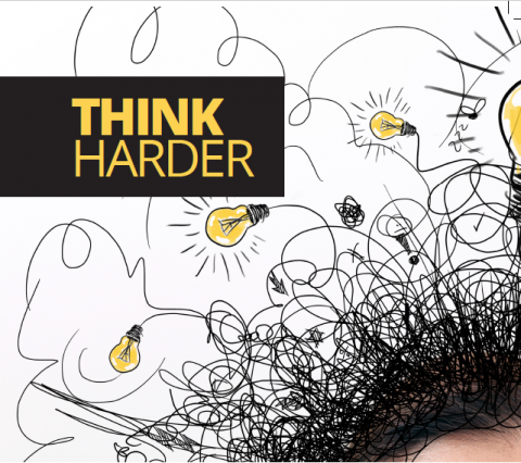 Think harder by Cathy Lasher