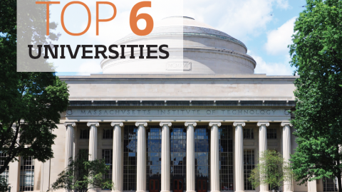 Top 6 universities by The Best You
