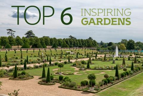 Top 6 inspiring gardens
