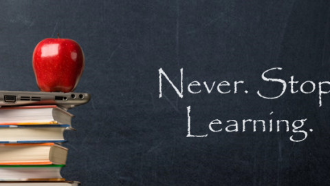The day you stop learning is the day you stop earning by Peter Thompson