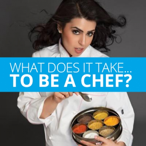 What does it take to be a chef?