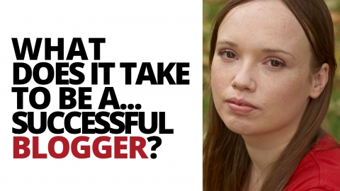 What does it take to be…a successful blogger? Catherine Balavage