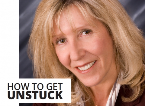 How to get unstuck by Susan Armostrong