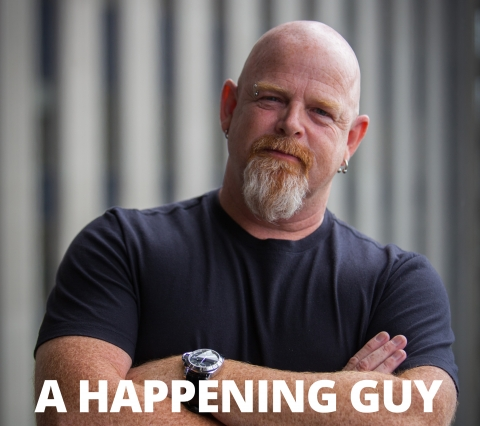 A happening guy