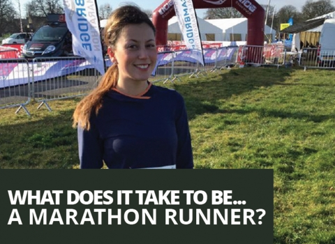 What does it take to be a… marathon runner? by Amy Hughes