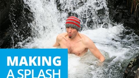 Making a splash by Andrew Fusek Peters