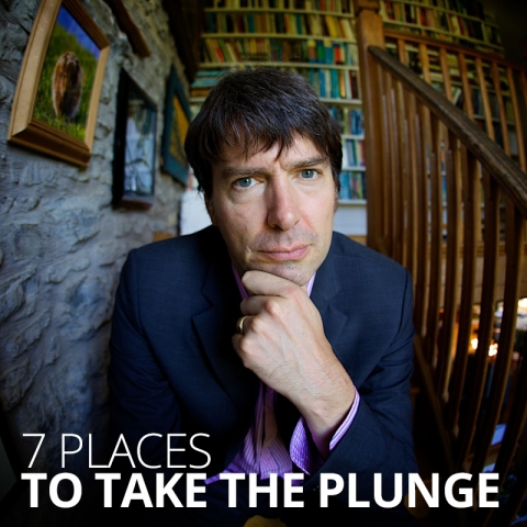 7 places to take the plunge