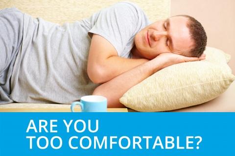 Are you too comfortable? by Bernardo Moya