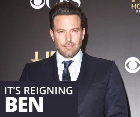 It's reigning Ben